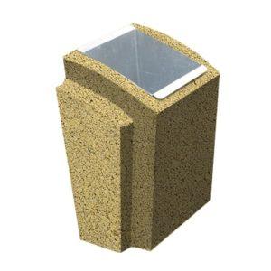 Урна бетонная ВЫБОР УРНА-2 500*410*750 С пигментом Гранит