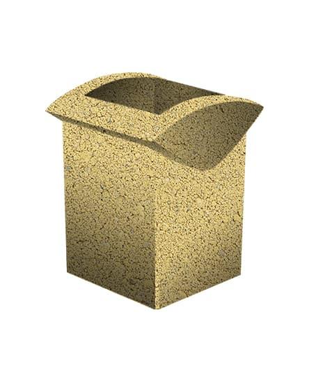 Урна бетонная ВЫБОР УРНА-3 500*460*600 С пигментом Гранит