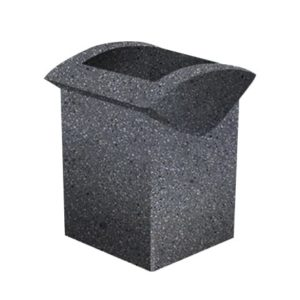 Урна бетонная ВЫБОР УРНА-3 500*460*600 Серый Мозаичный бетон