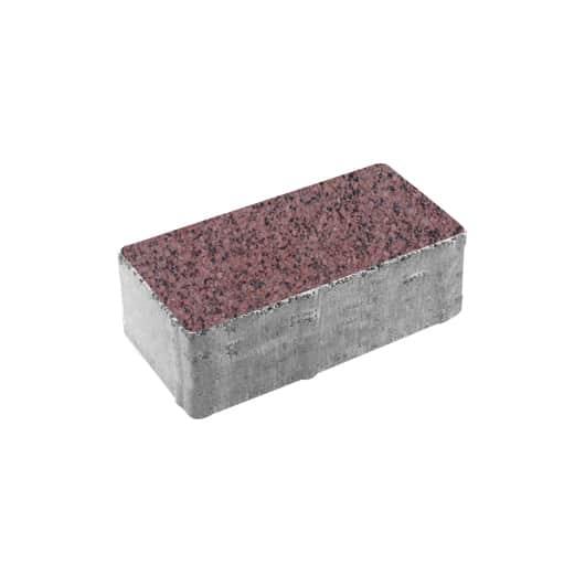 Тротуарные плиты ВЫБОР Гранит ЛА-ЛИНИЯ В.2.П.10 Красный с черным