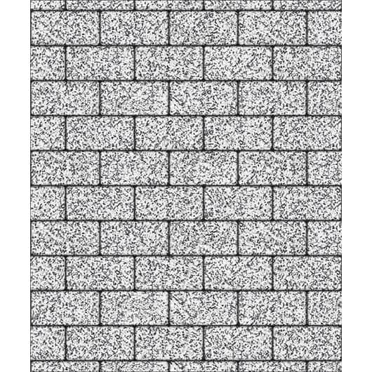 Тротуарные плиты ВЫБОР Стоунмикс ЛА-ЛИНИЯ В.2.П.10 Бело-черный