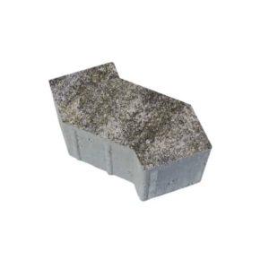 Тротуарные плиты ВЫБОР Искусственный камень S-ФОРМА В.3.Ф.10 Габбро