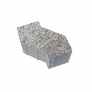 Тротуарные плиты ВЫБОР Искусственный камень S-ФОРМА В.3.Ф.10 Шунгит