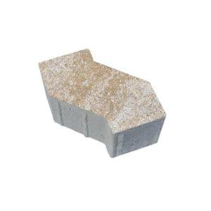 Тротуарные плиты ВЫБОР Искусственный камень S-ФОРМА В.3.Ф.10 Степняк