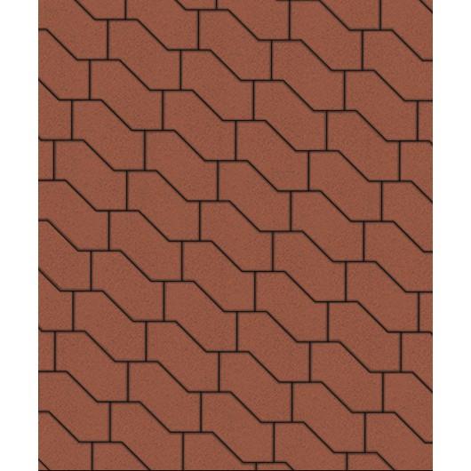Тротуарные плиты ВЫБОР Стандарт S-ФОРМА В.3.Ф.10 Красный