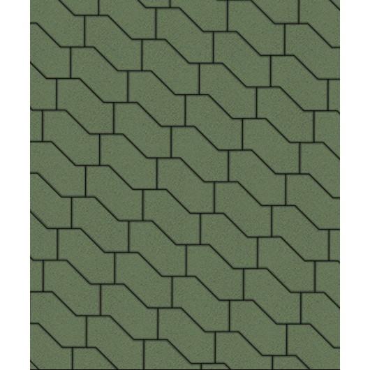 Тротуарные плиты ВЫБОР Стандарт S-ФОРМА В.3.Ф.10 Зеленый