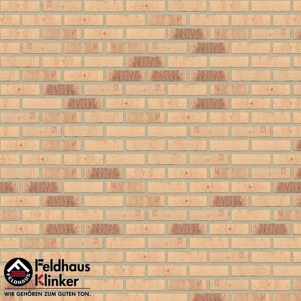 Клинкерная плитка Feldhaus Klinker VASCU R742 vascu crema petino