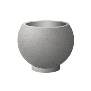 Вазон бетонный ВЫБОР ВАЗОН-1 d=600, h=480 Белый Гранит