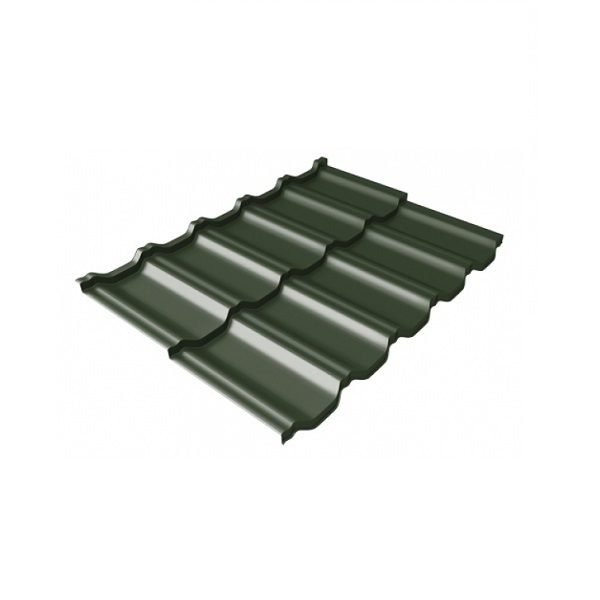 квинта Uno 0,5 Velur20 RAL 6020 хромовая зелень