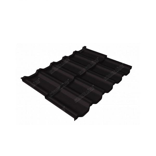 квинта Uno 0,5 Velur20 RAL 8022 черно-коричневый