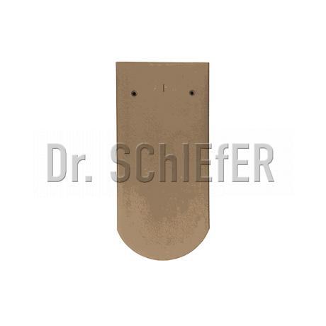 Керамическая рядовая черепица Meyer-Holsen Biber восстановительный обжиг коричнево-пестрый