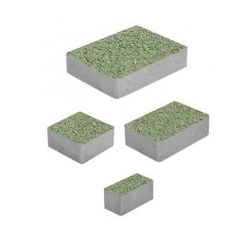 Тротуарные плиты ВЫБОР Стандарт МЮНХЕН Б.2.Фсм.6 Зеленый- комплект из 4 плит